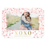 Sweet hearts in White | Valentine's Day Photo Card 13cm X 18cm Invitation Card