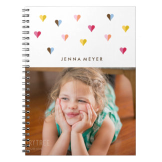 Sweet Hearts - Multi Colored - Photo Notebook