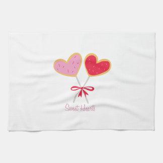 Sweet Hearts Towels
