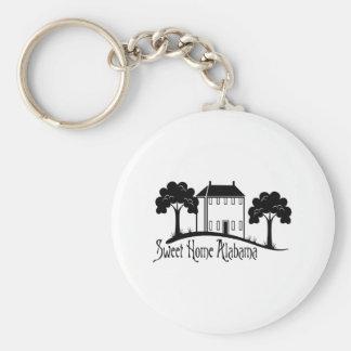 Sweet Home Alabama Basic Round Button Key Ring