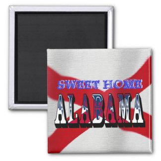 Sweet Home Alabama State Flag Magnet