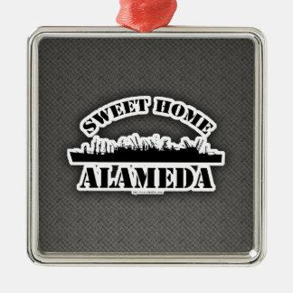 Sweet Home Alameda 2 Metal Ornament