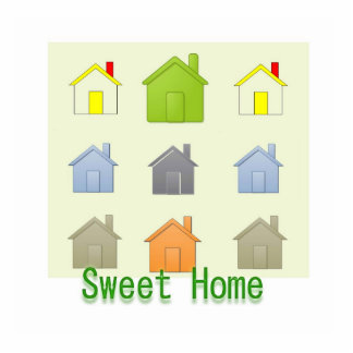 Sweet Home - Real Estate Business Promotion Photo Sculpture Badge