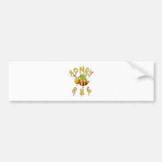 sweet honey bee bumper sticker