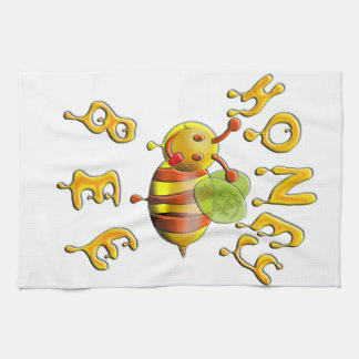 sweet honey bee towels