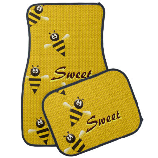 Sweet Honey Bees Floor Mat