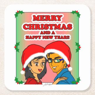 Sweet Honey Christmas Coaster