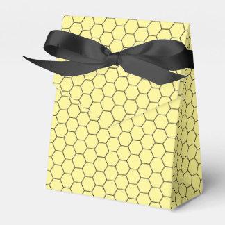 Sweet Honeycomb Honey Pattern Favor Boxes