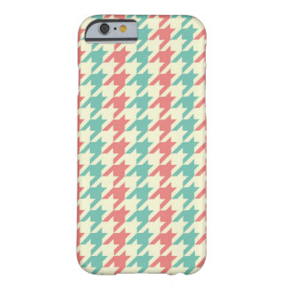Sweet houndstooth iPhone 6/6s Barely There iPhone 6 Case