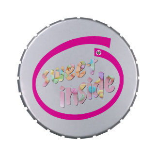 Sweet Inside Jelly Belly Candy Tin