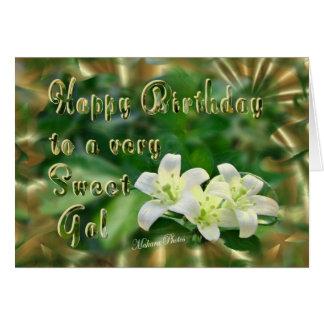 Sweet Jasmine-customize Card