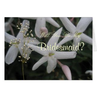 Sweet Jasmine Wedding Card