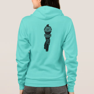 Sweet Justice Hoodie for Women (mint green)