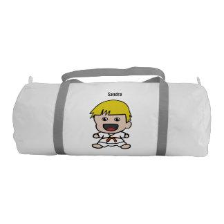 Sweet Karate Boy Duffel Bag Gym Duffel Bag