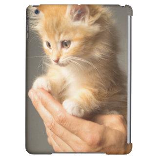 Sweet Kitten in Good Hand iPad Air Cover