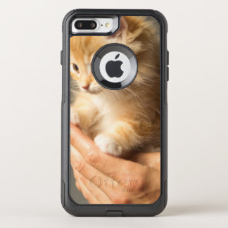 Sweet Kitten in Good Hand OtterBox Commuter iPhone 8 Plus/7 Plus Case