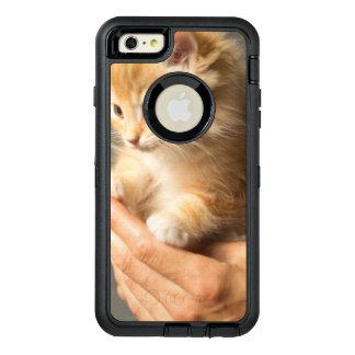 Sweet Kitten in Good Hand OtterBox Defender iPhone Case