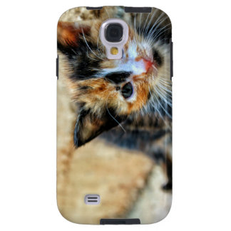 Sweet Kitten looking at YOU Galaxy S4 Case