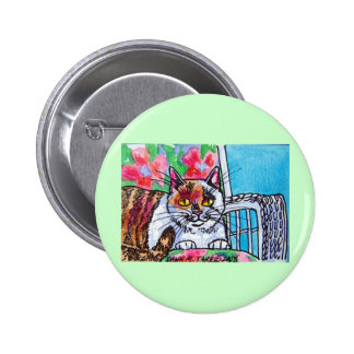 sweet kitty pinback buttons