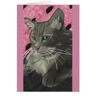 Sweet Kitty Birthday Card