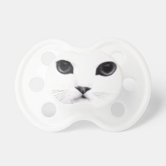 Sweet Kitty Cat Face Baby Pacifiers