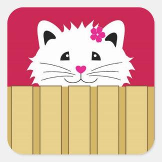 Sweet Kitty Cat Stickers