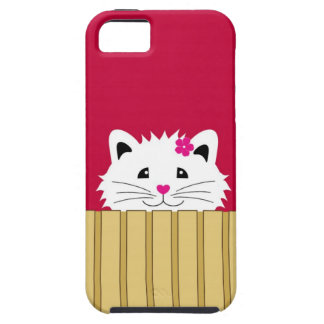 Sweet Kitty Cat Tough iPhone 5 Case