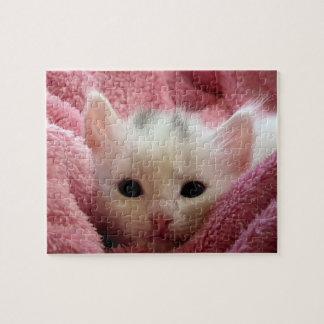 Sweet kitty jigsaw puzzle