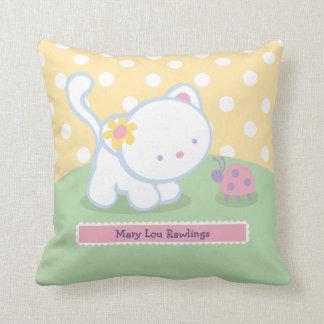 Sweet Kitty Kids Throw Pillows Throw Cushion