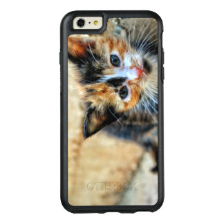 Sweet Kitty looking at YOU OtterBox iPhone 6/6s Plus Case