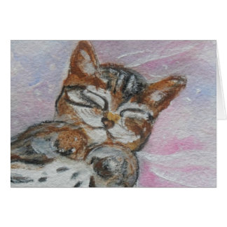 Sweet Kitty Note Card