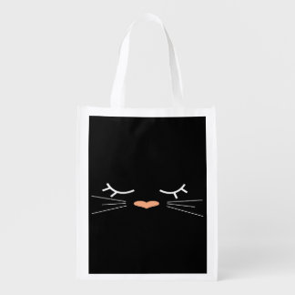 Sweet Kitty Reusable Grocery Bag