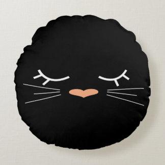 Sweet Kitty Round Cushion