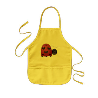 Sweet Ladybug Kids Apron