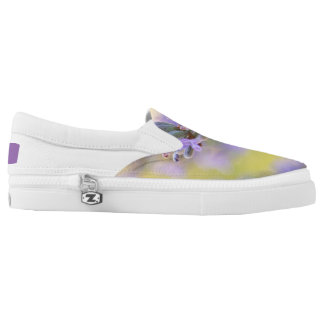 Sweet lavender Slip-On shoes