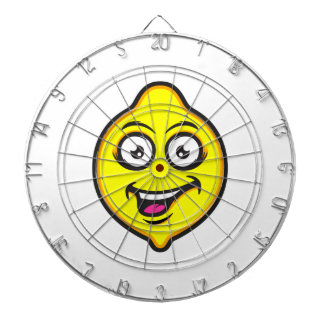 Sweet Lemon Dartboard