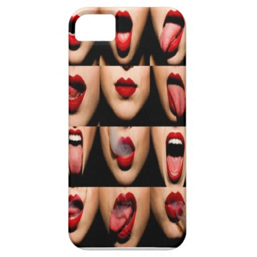 Sweet Lips iPhone 5/5S Cases