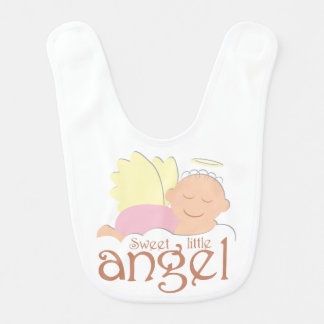 Sweet little angel Baby Bib