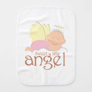 Sweet little angel Burp Cloth