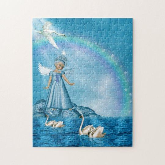 Sweet Little Angel Jigsaw Puzzle