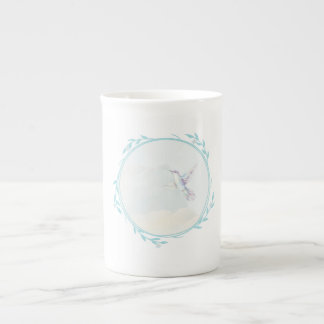 Sweet little bird tea cup