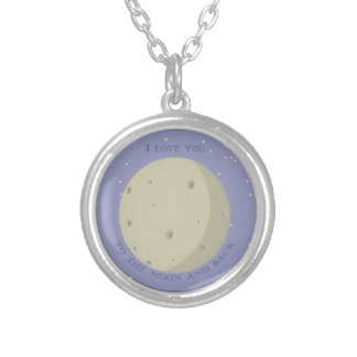 Sweet little card for a loved one silver plated necklace