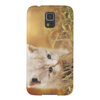 Sweet Little Cat Galaxy S5 Cover