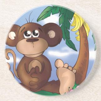 Sweet Little Monkey Beverage Coasters