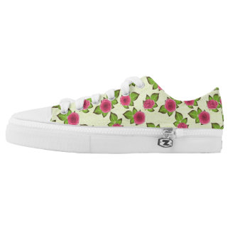 Sweet Little Roses Low Tops