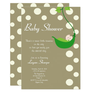 Sweet Little Someone Baby Shower 13 Cm X 18 Cm Invitation Card