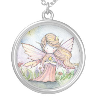 Sweet Little Star Fairy Sterling Necklace