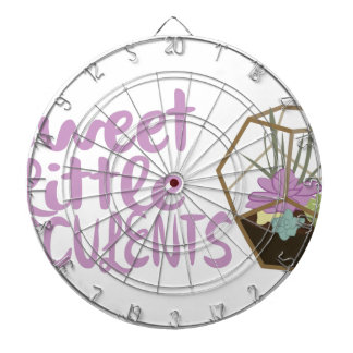 Sweet Little Succulents Dartboard