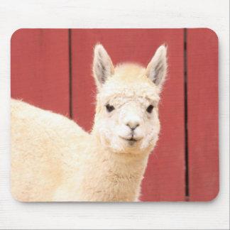 Sweet Llama Mouse Pad