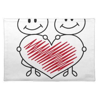 sweet love collection placemat